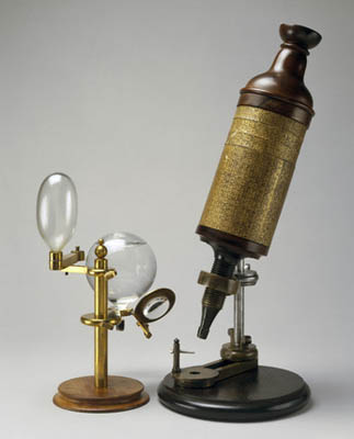 Olde Time microscope
